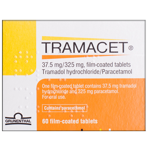 tramacet tablets in a box