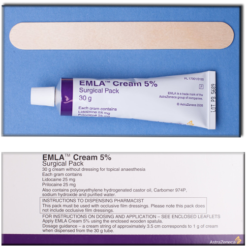 Emla safer sex